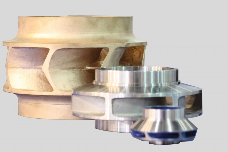 Bronze, Super Duplex & Stainless Steel Impellers